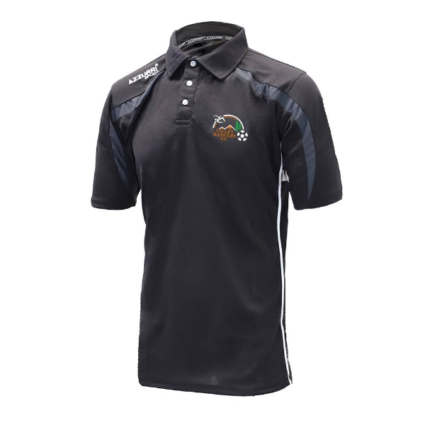 Picture of Valley Rangers Classic Poloshirt Black-Grey-White