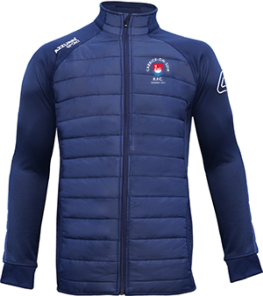 Picture of carrick rfc adults Padded Jacket Navy-Navy