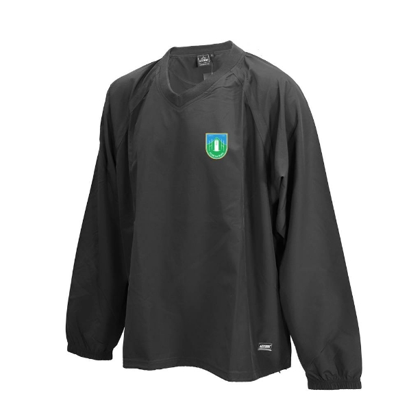 Picture of clan na gael Ripstop V Neck rugger Black