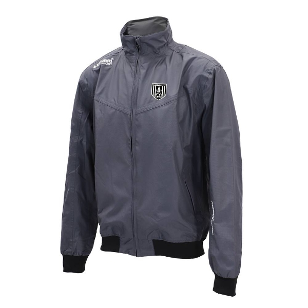 Picture of dunmore town afc Bective Rain Jacket Gunmetal Grey