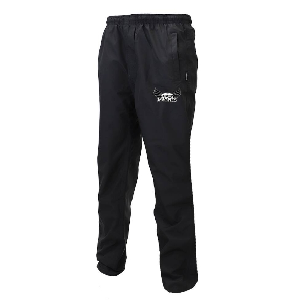 Picture of GALWAY MAGPIES waterproof tracksuit bottoms Black