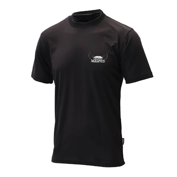 Picture of GALWAY MAGPIES t-shirt Black