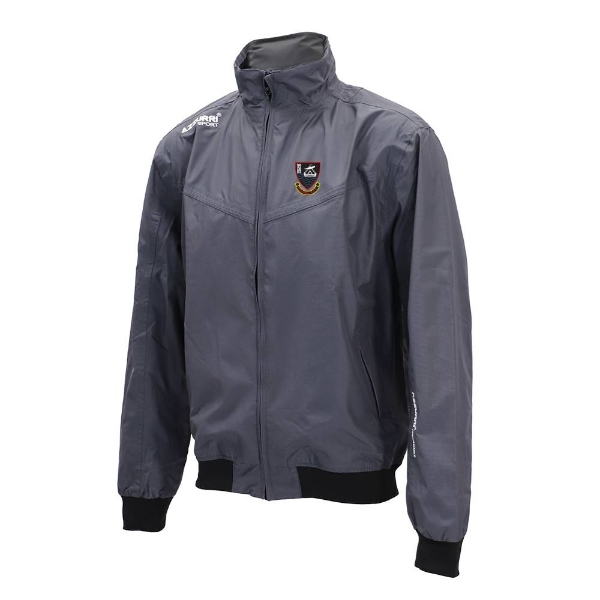 Picture of youghal rfc Bective Rain Jacket Gunmetal Grey