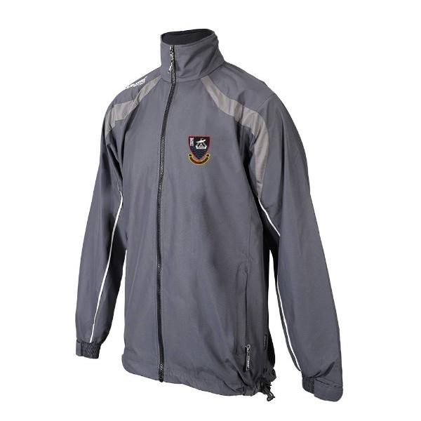 Picture of youghal rfc Brosna Rain Jacket Gunmetal Grey-Slate Grey-White