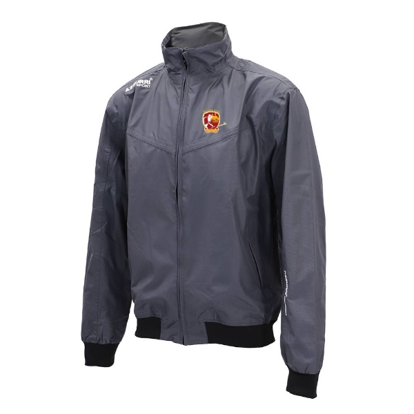 Picture of southern gaels Bective Rain Jacket Gunmetal Grey