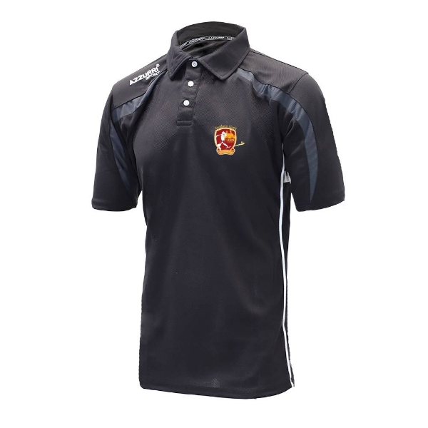 Picture of southern gaels Classic Poloshirt Black-Grey-White