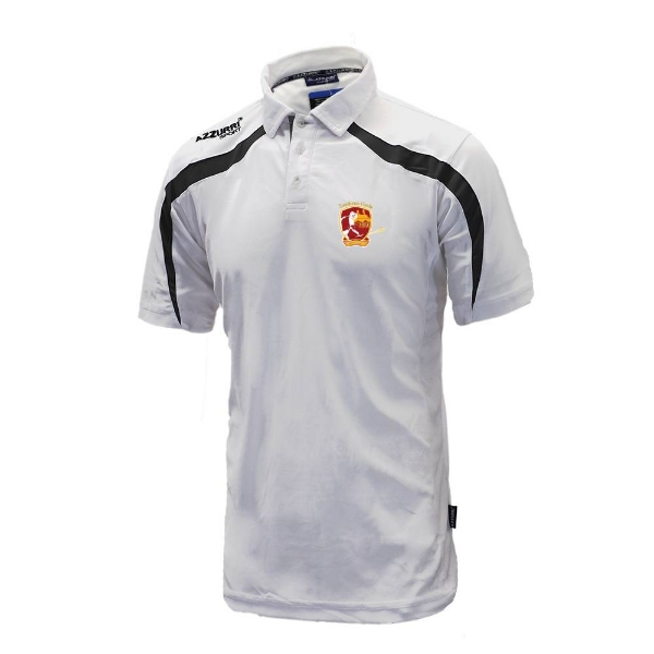 Picture of southern gaels Classic Poloshirt White-Black