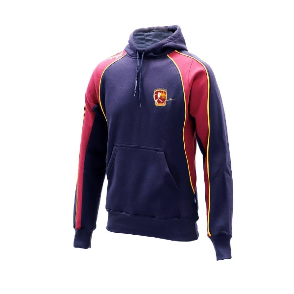 Picture of southern gaels Hoodie-Cotton Rich-Barrow Navy-Maroon-Gold