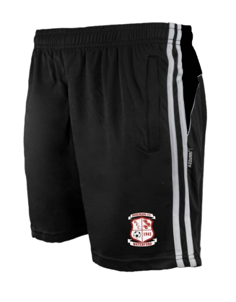 Picture of BOHEMIANS FC Brooklyn Leisure Shorts Black-Black-White