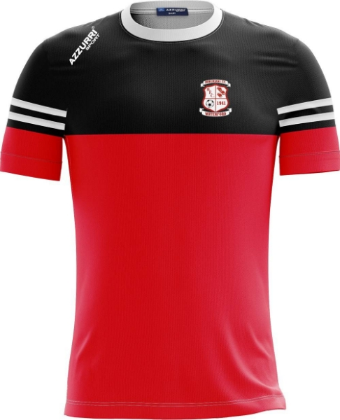 Picture of BOHEMIANS FC KIDS SKRYNE TEE Red-Black-White