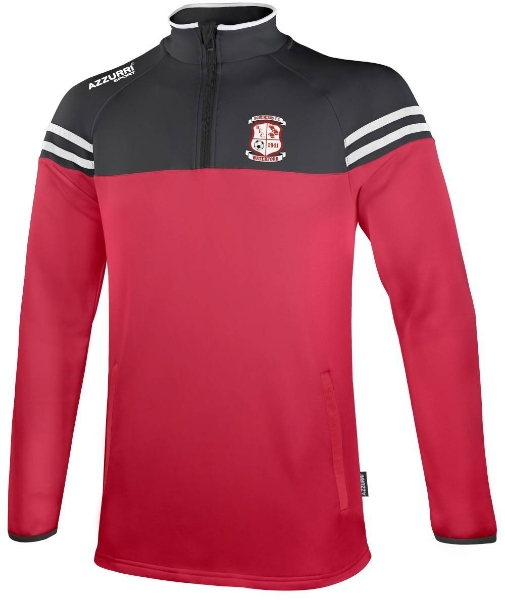 Picture of bohemians fc skryne zippy Red-Black-White