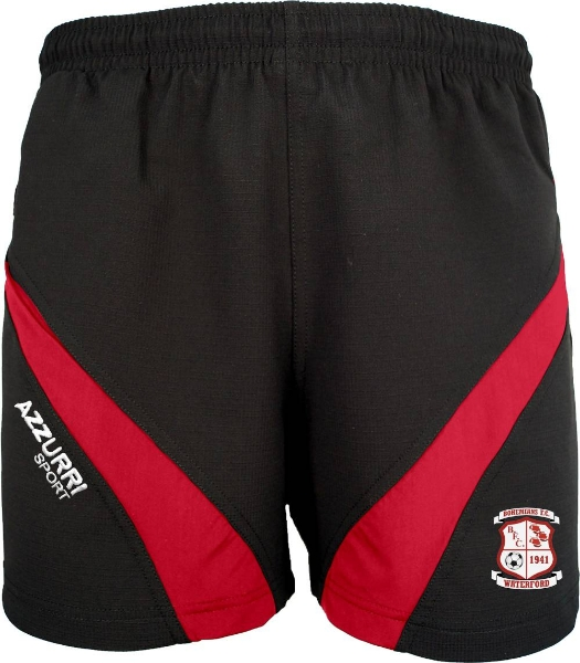 Picture of BOHS FC GYM SHORTS 2 Black-Red