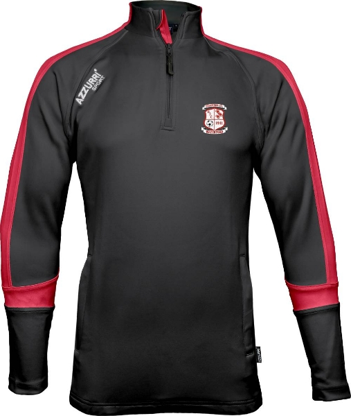 Picture of BOHEMIANS FC AUGHRIM ZIPPY Black-Red-Red