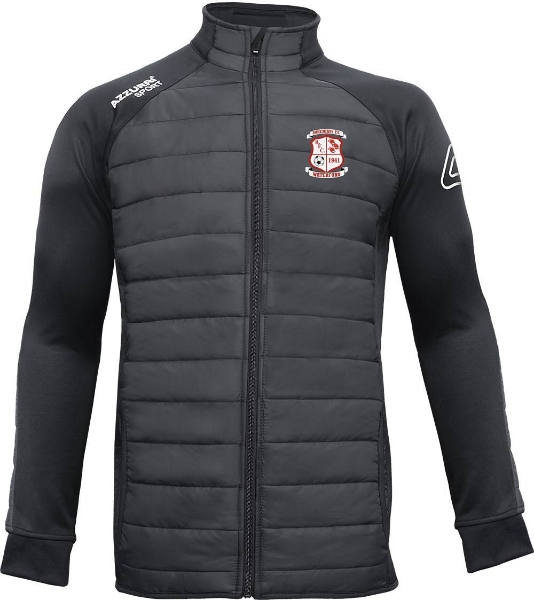 Picture of BOHEMIANS FC Padded JackeT Black-Black