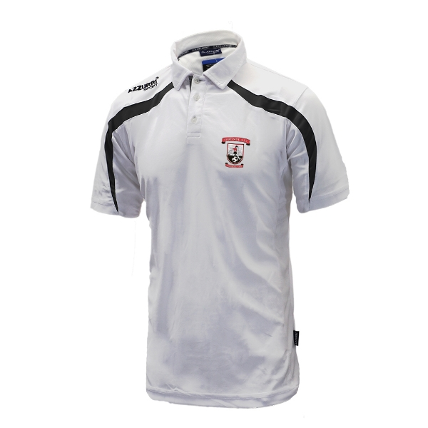 Picture of Abbeyside AFC Classic Poloshirt White-Black