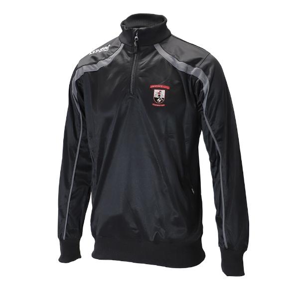 Picture of Abbeyside AFC Half Zip Black-Slate Grey