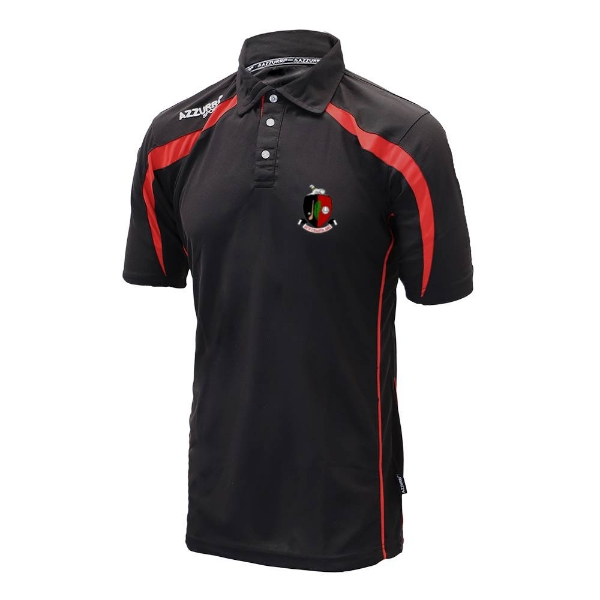 Picture of Newmarket GAA Polo Shirt Black-Red