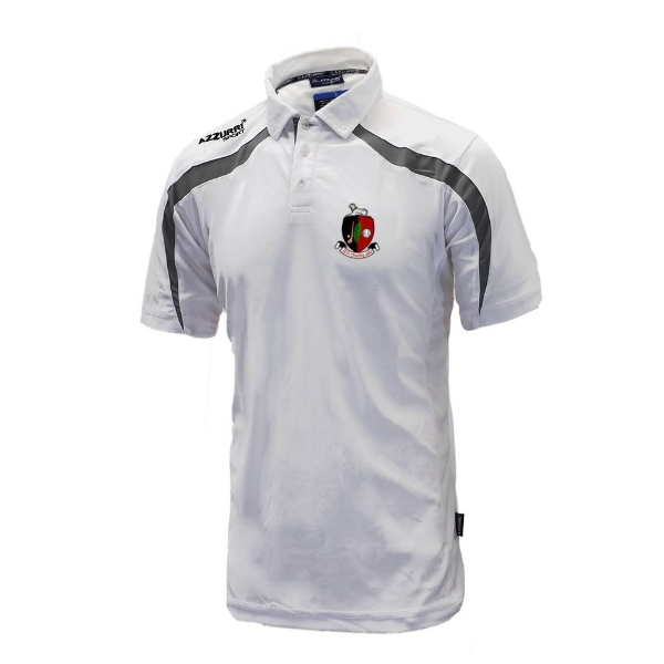 Picture of Newmarket GAA Classic Poloshirt White-Grey