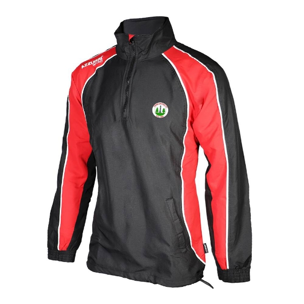 Picture of Caim United Track 1-4 Zip Top Black-Red-White