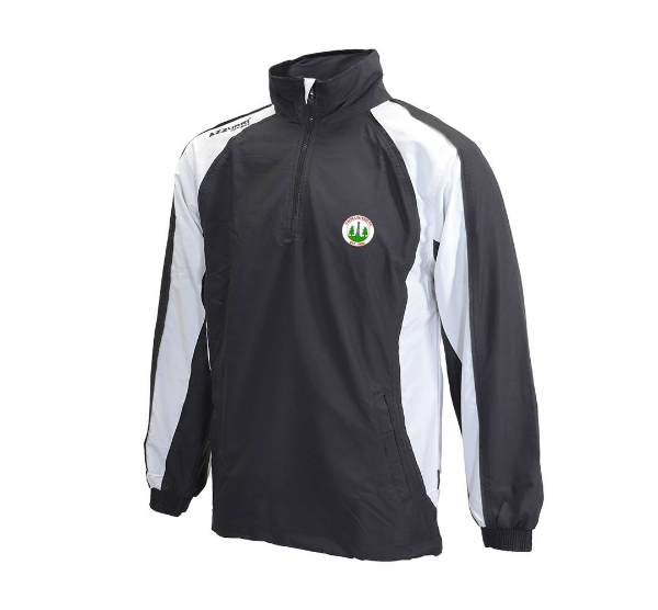 Picture of Caim United Track 1-4 Zip Top Black-White-Black