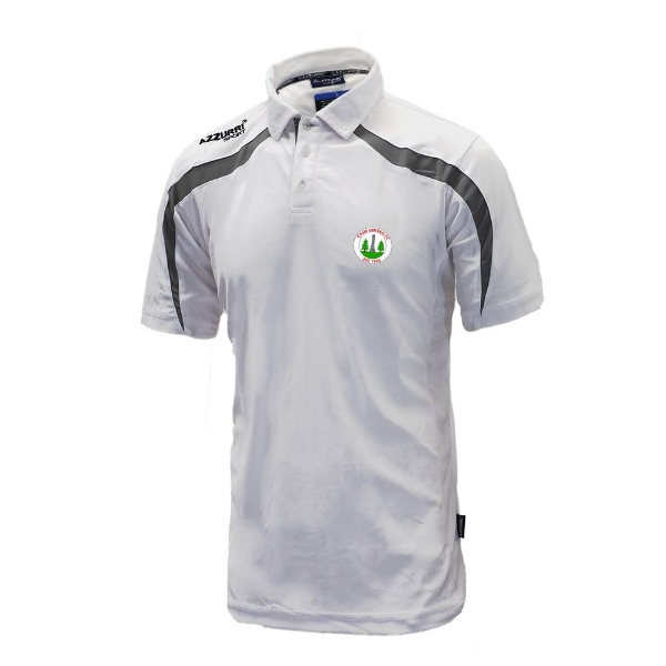Picture of Caim United Classic Poloshirt White-Grey