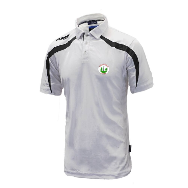 Picture of Caim United Classic Poloshirt White-Black