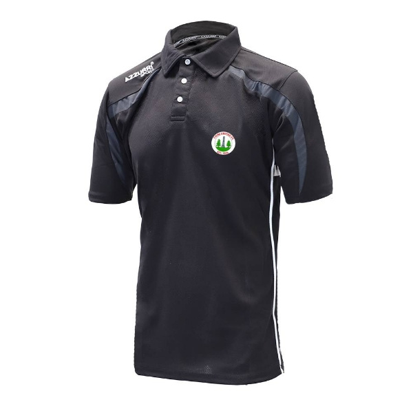 Picture of Caim United Classic Poloshirt Black-Grey-White