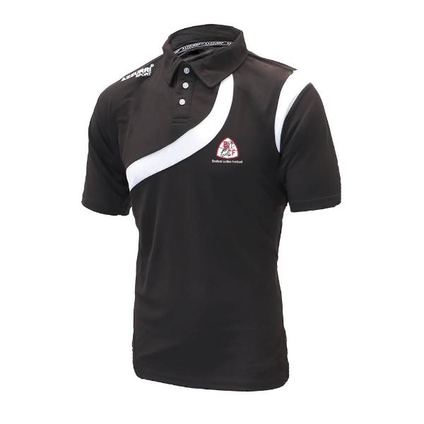 Picture of Banteer LGFA Turin Polo Shirt Black-Black-White