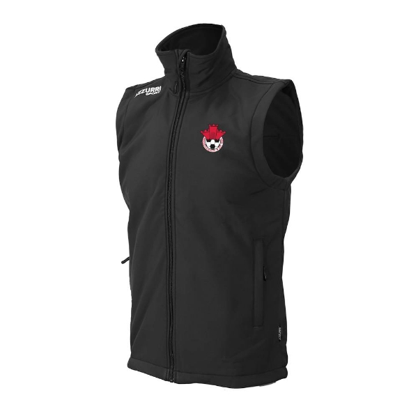 Picture of Redcastle FC Soft Shell, Bodywarmer Black