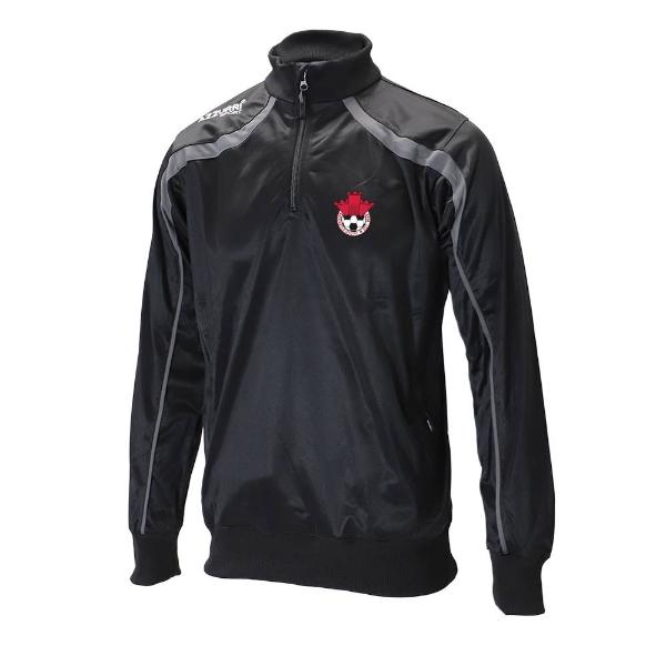 Picture of Redcastle FC Half Zip Black-Slate Grey