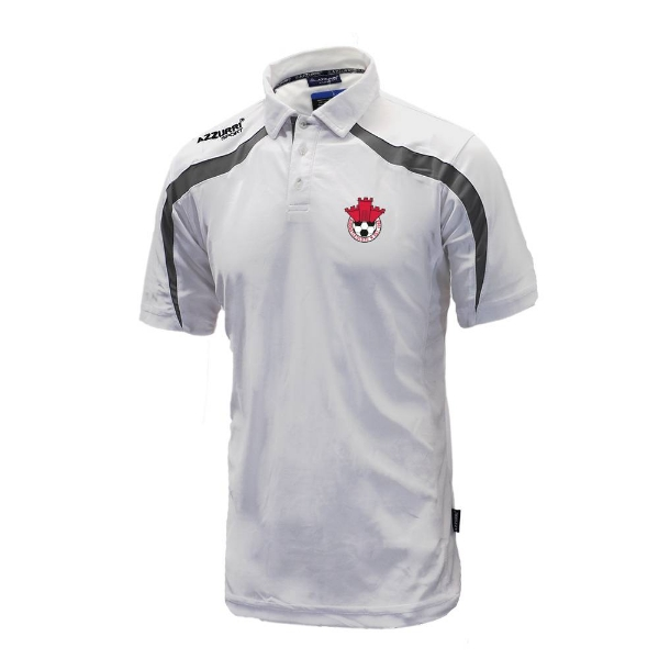 Picture of Redcastle FC Classic Poloshirt White-Grey