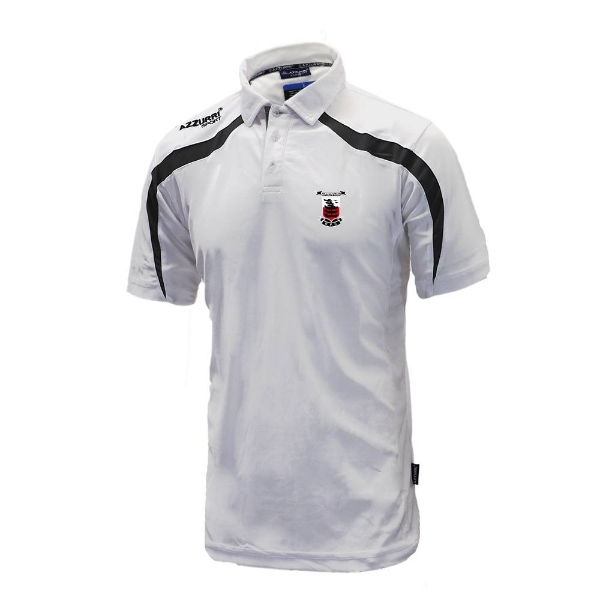 Picture of Waterpark RFC Classic Poloshirt White-Black