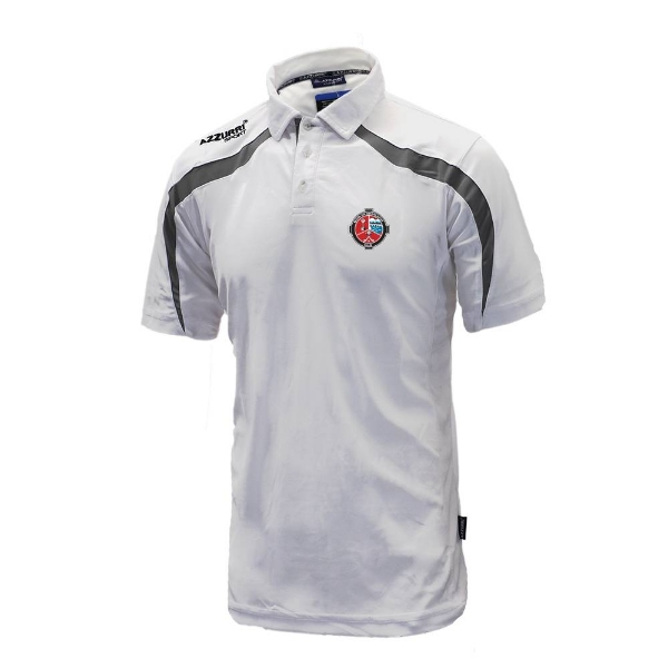Picture of Valleymount Classic Poloshirt White-Grey