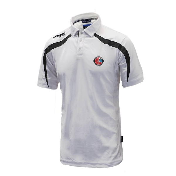 Picture of Valleymount Classic Poloshirt White-Black