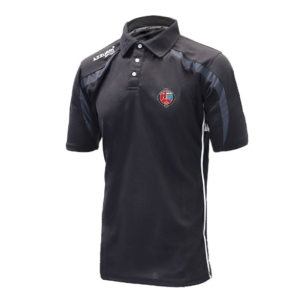 Picture of Valleymount Classic Poloshirt Black-Grey-White