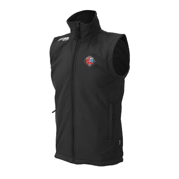 Picture of Valleymount Soft Shell, Bodywarmer Black