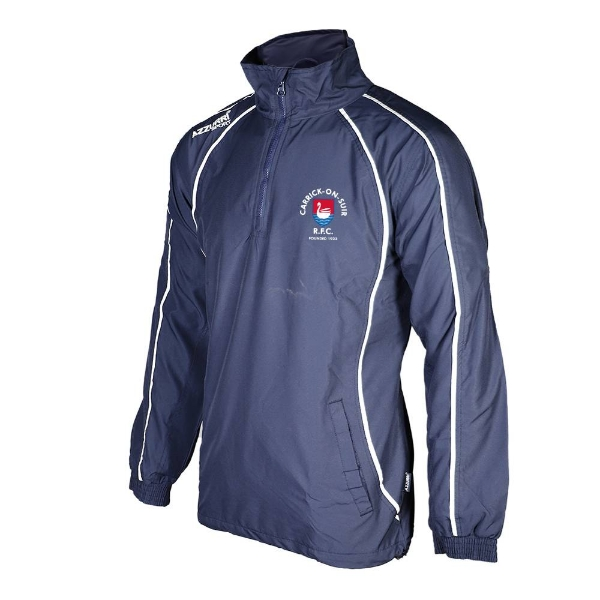 Picture of Carrick RFC TSuit Top-1-4 Zip Navy-Navy-White