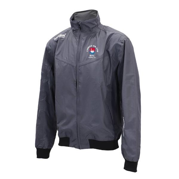 Picture of Carrick RFC Bective Rain Jacket Gunmetal Grey