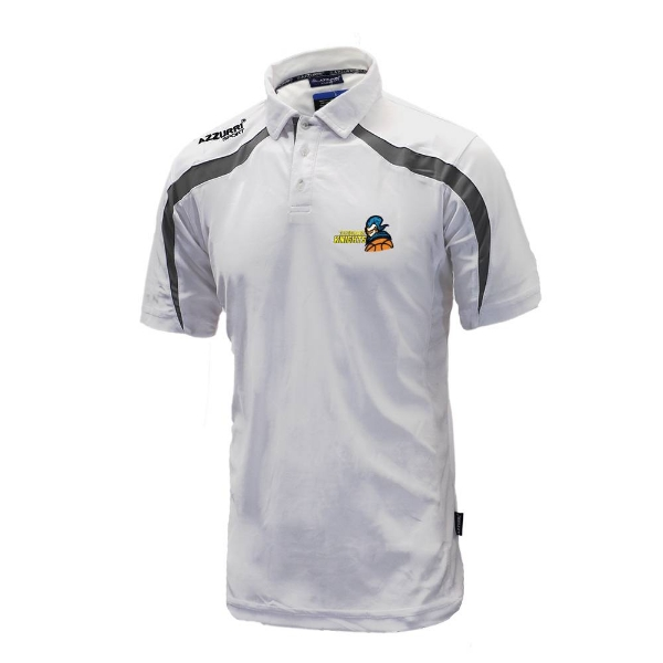 Picture of Tipperary Knights Classic Poloshirt White-Grey