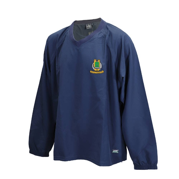 Picture of Butlerstown GAA Ripstop V Neck Rugger Navy