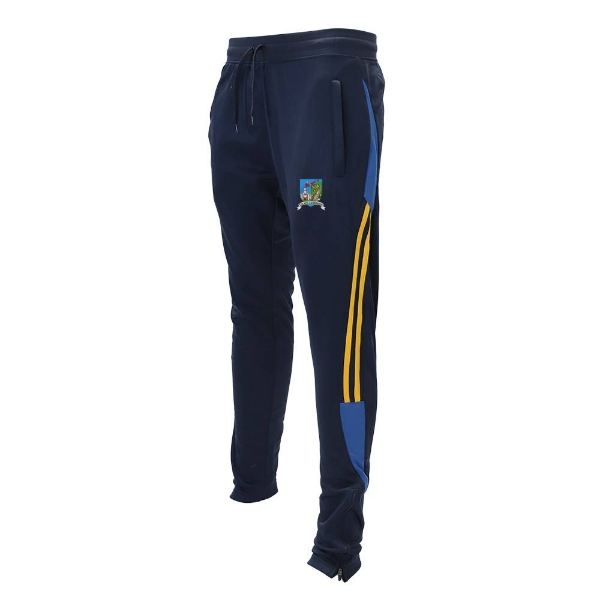 Picture of Tallow Camogie Leisure Bottoms Navy-Royal-Gold