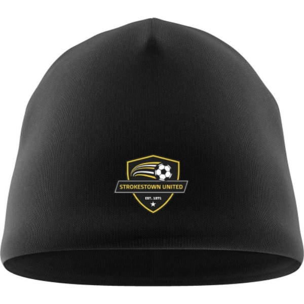 Picture of STROKESTOWN UNITED BEANIE HAT Black