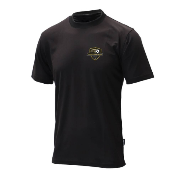 Picture of STROKESTOWN UNITED TEE Black