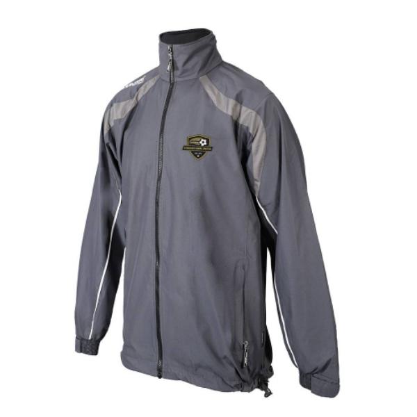 Picture of STOKESTOWN  Brosna Rain Jacket Gunmetal Grey-Slate Grey-White