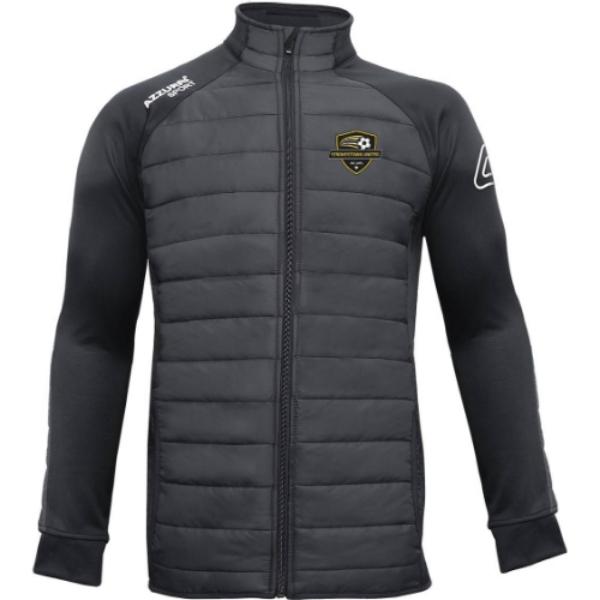 Picture of STROKESTOWN UNITED Padded Jacket Black-Black