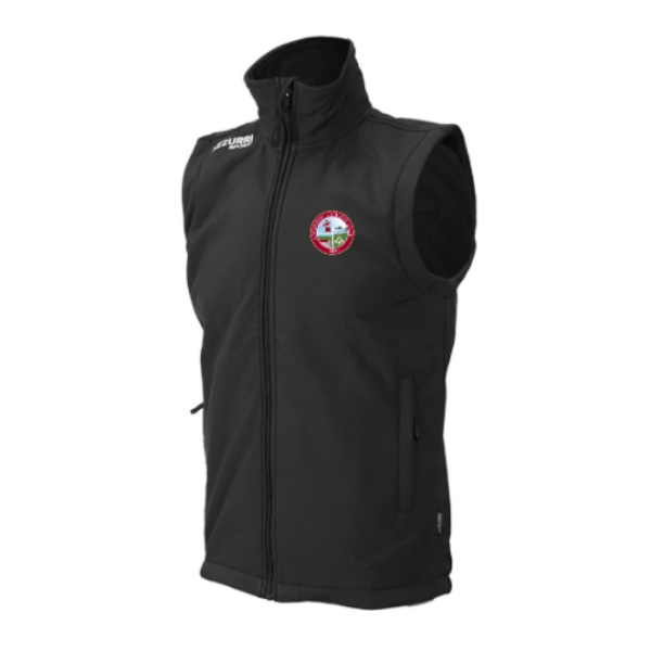 Picture of CAUSEWAY CAMOGIE Soft Shell Bodywarmer Black