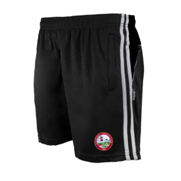 Picture of Causeway Camogie Brooklyn Leisure Shorts Black-Black-White