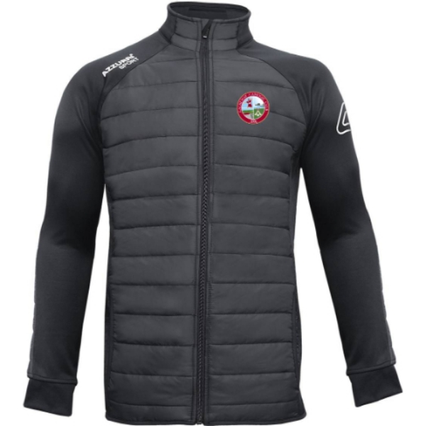 Picture of causeway camogie padded jacket Black-Black
