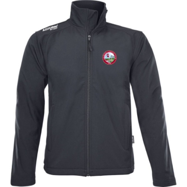 Picture of CUASEWAY CAMOGIE SOFT SHELL FLEECE Black