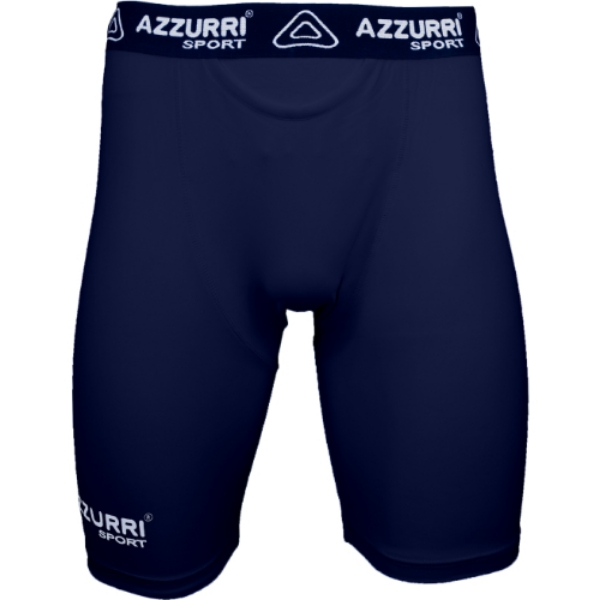 Picture of NAVY BASE LAYER SHORTS Navy